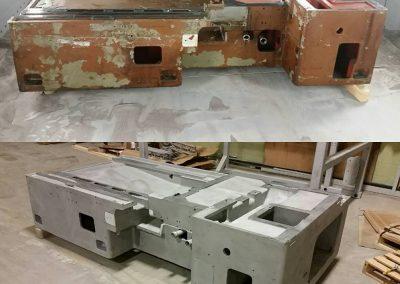 Cast Iron Machine Base