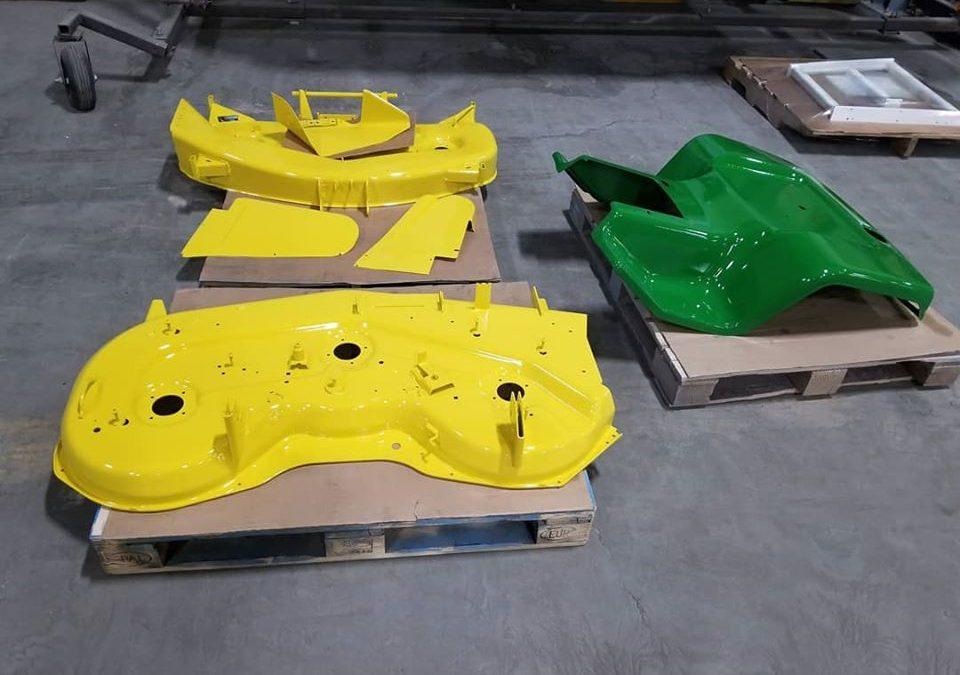 John Deere mower parts