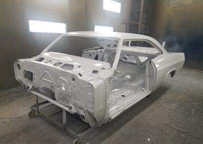 '65 Impala epoxy primed