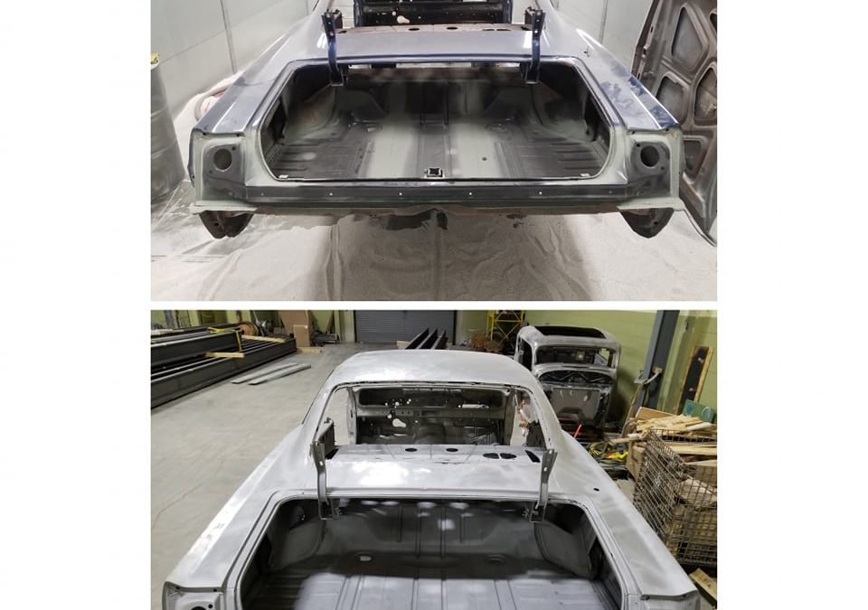 '65 Impala before & after