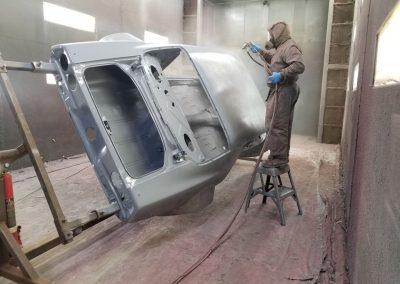 '71 Camaro epoxy priming