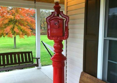 Antique Fire Alarm Call Box
