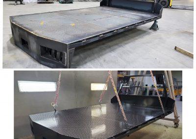New Flat Bed – blast, epoxy primed, siloxane top coat