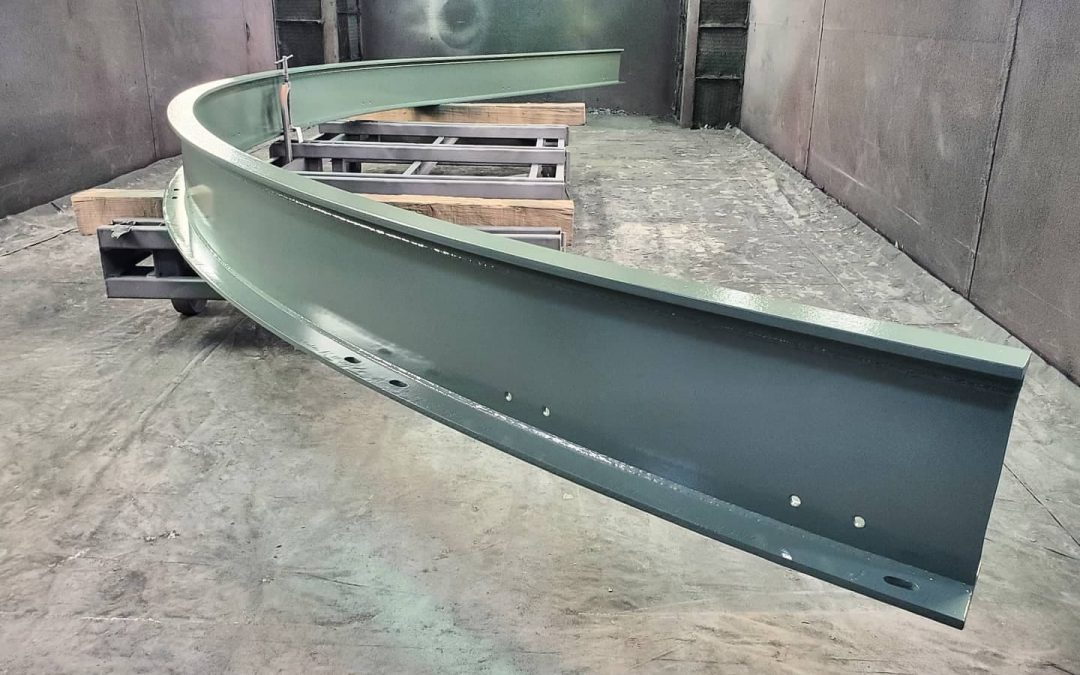 Monorail Crane curved I-Beam